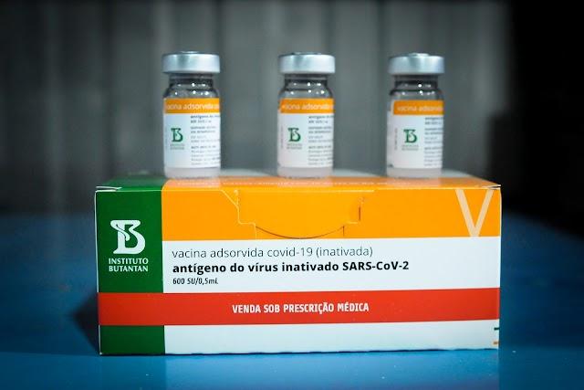 Justiça Federal determina que União envie de imediato 25.019 doses extras de CoronaVac ao Ceará