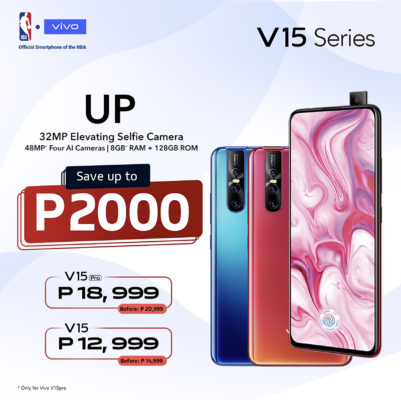 Vivo announces up to PHP 2,000 price cut on V15 series and Y91
