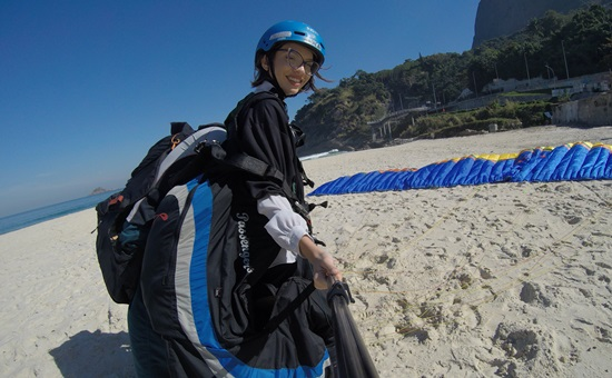 Salto de parapente com a Sport Livre e Radical no RJ