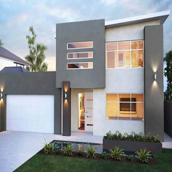 2 storey modern house designs in the philippines bahay ofw for Exterior design of 2 storey house