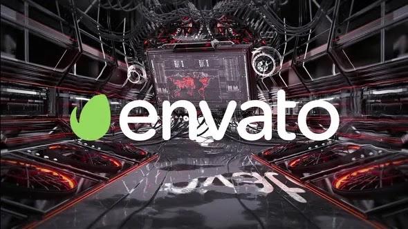 Videohive Mechanical HUD Glitch Logo 26092444