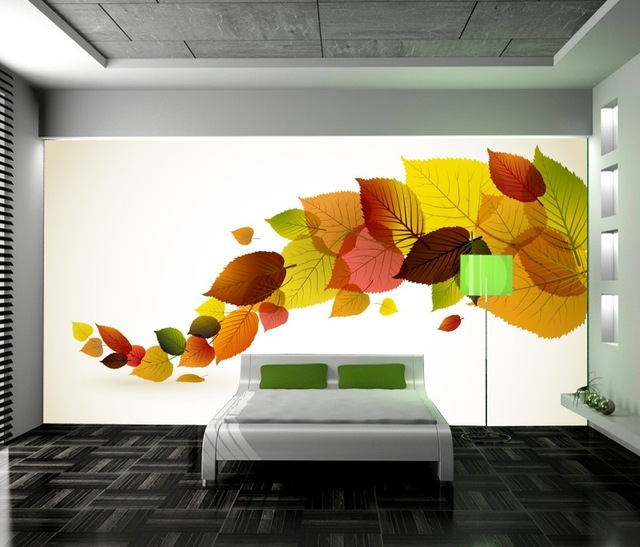 35 Beautiful Large 3D Wallpaper Mural Interior Designs - Dwell Of Decor