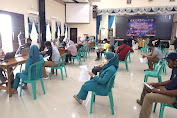 Bersama Awak Media, Polda Kepri Adakan Vaksinasi di Graha Lancang Kuning