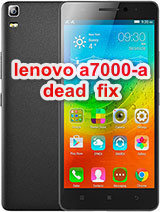 Lenovo a7000-a  after flash dead, only vibrate only& white display solution?