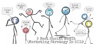 5 Beste Strategie für Social Media-Marketing im Jahr 2019