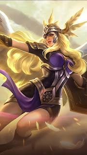 Freya Valkyrie Heroes Fighter of Skins V5