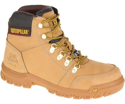 Sepatu Safety Caterpillar Outline ST Honey Reset Original
