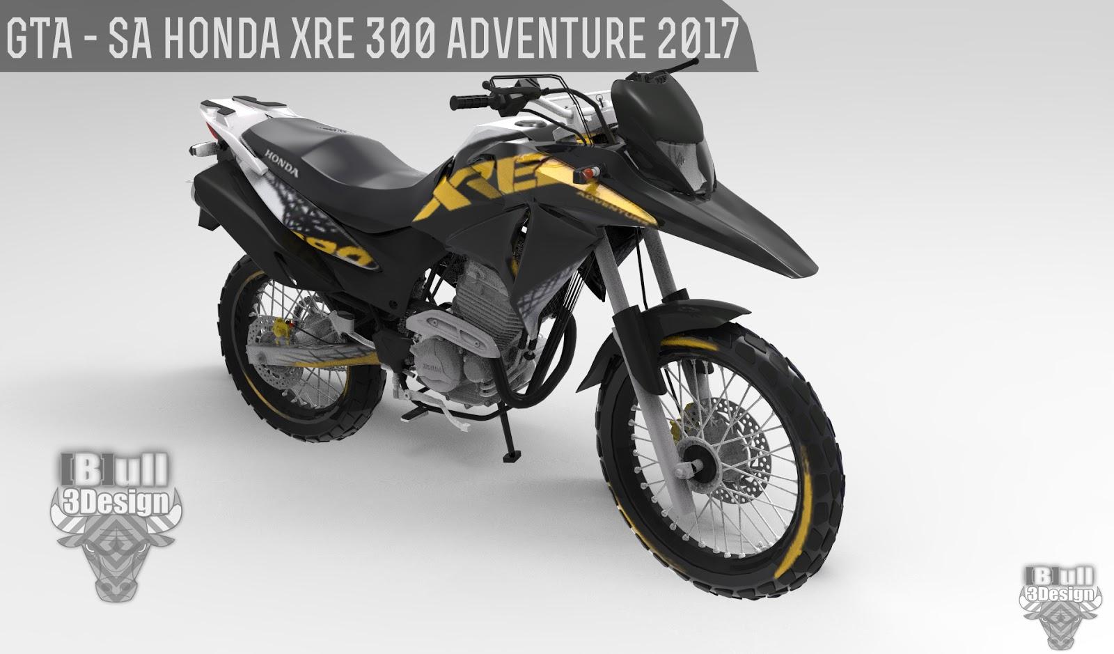 Honda San Marcos >> GTA SA -200K - HONDA XRE 300 ADVENTURE 2017 EXCLUSIVA ...