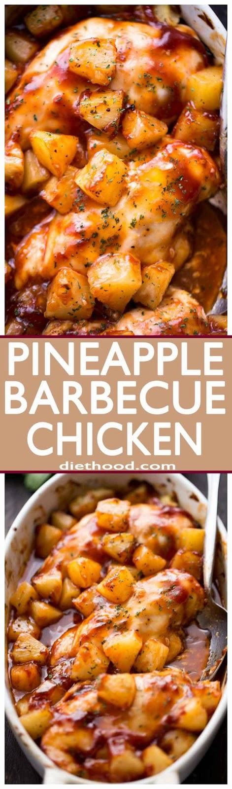 Pineapple Barbecue Chicken