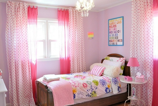 Examples of simple girl bedroom designs