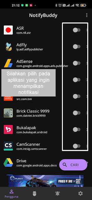 membuat led notifikasi pada hpt yang tidak memiliki led notifikasi