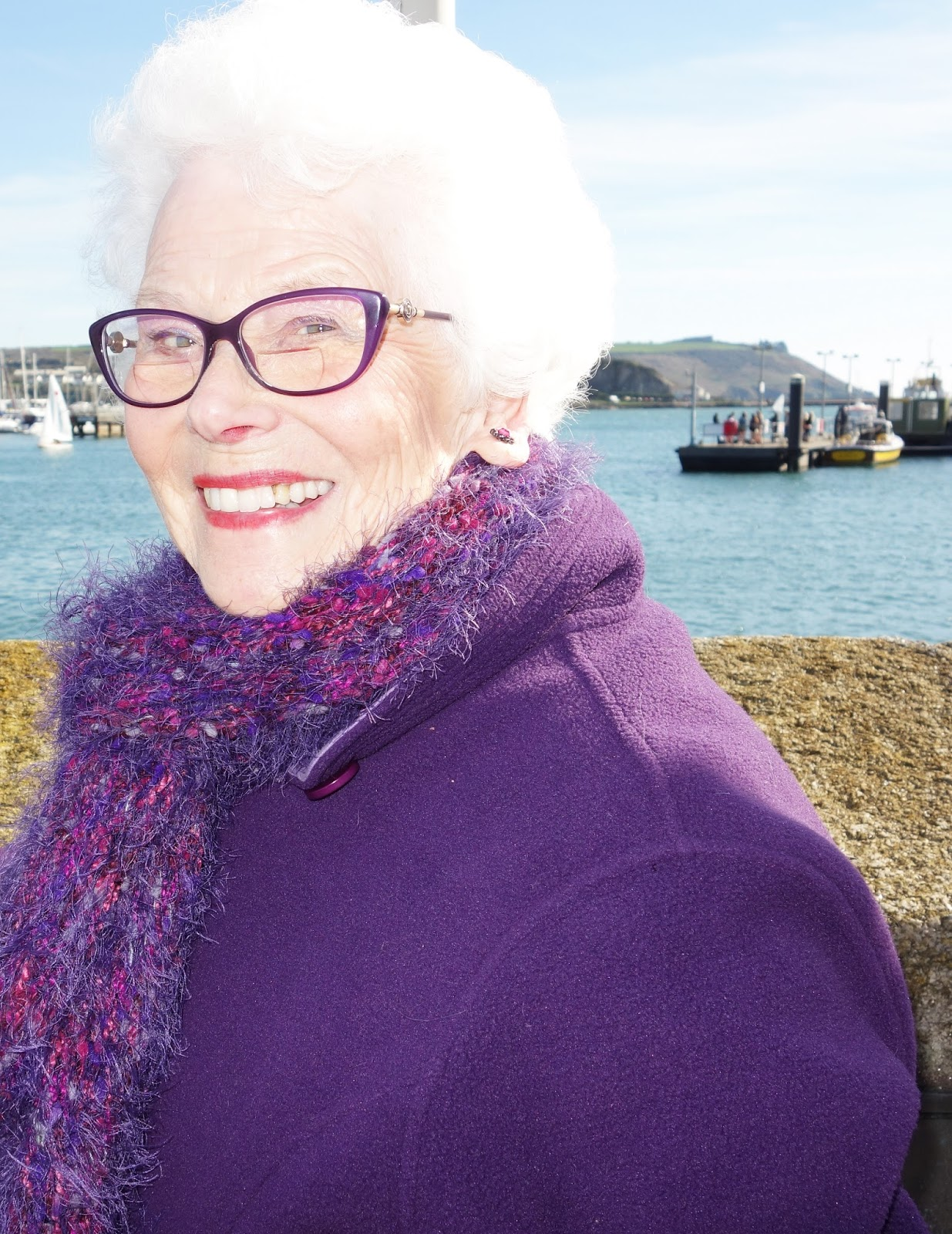 June Tyler, 84, showing that older ladies can still look glamorous