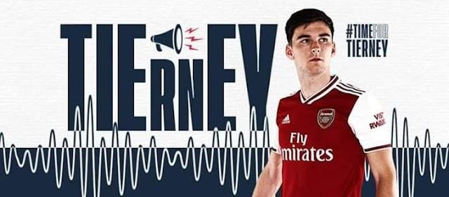 Arsenal Sign Kieran Tierney as Auba & Laca Pen New Deals