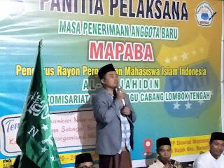 Muhammad Akri Hadiri Acara Mapaba Rayon Mujahidin Al-Huda