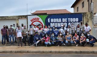 Prefeitura de Barreiras realiza mutirões para combater o Aedes aegypti, causador da Dengue, Zika e Chikungunya