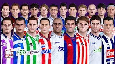 PES 2020 PS4 Classic Option La Primera División 1996-1997