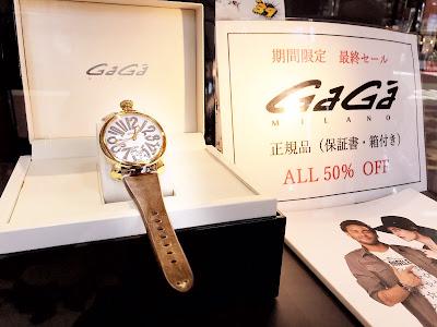 GaGa 腕時計 最終SALE お得 赤字