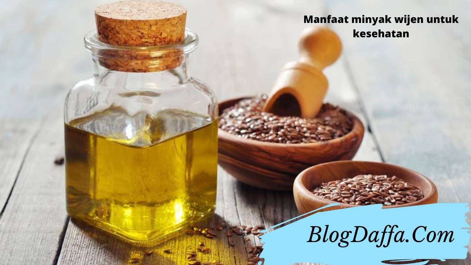 Manfaat minyak wijen untuk kesehatan