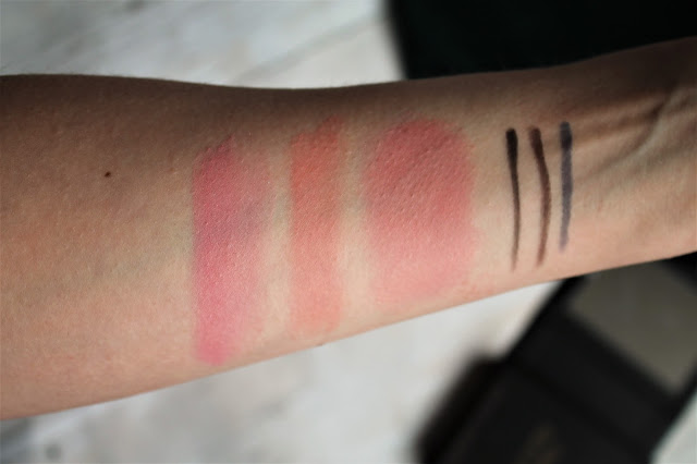Kevyn Aucoin Making Faces Beauty Book Blush Swatches
