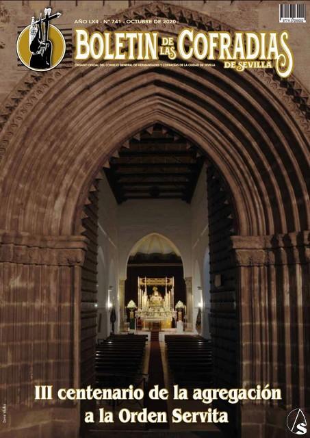 La Real Hermandad Servita, protagonista en el Boletín de las Cofradías de Octubre