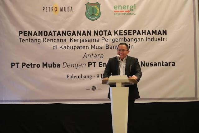 BUMD Petro Muba Gandeng PT Energi Daya Nusantara