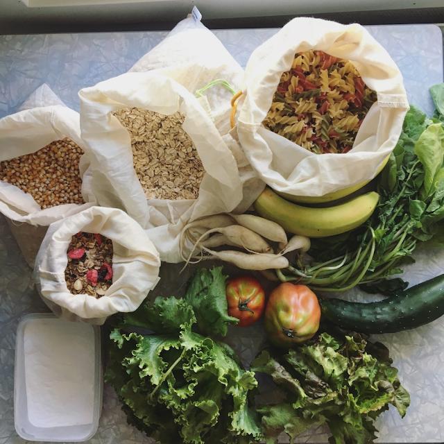 Frukt og grønt i løsvekt uten plastemballasje