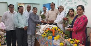 #JaunpurLive : कांदिवली में शिवप्रसाद पाल की सेवासंपूर्ति सम्मान समारोह संपन्न