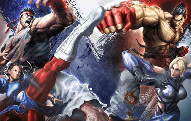 Tekken and Street Fighter will fight again though?