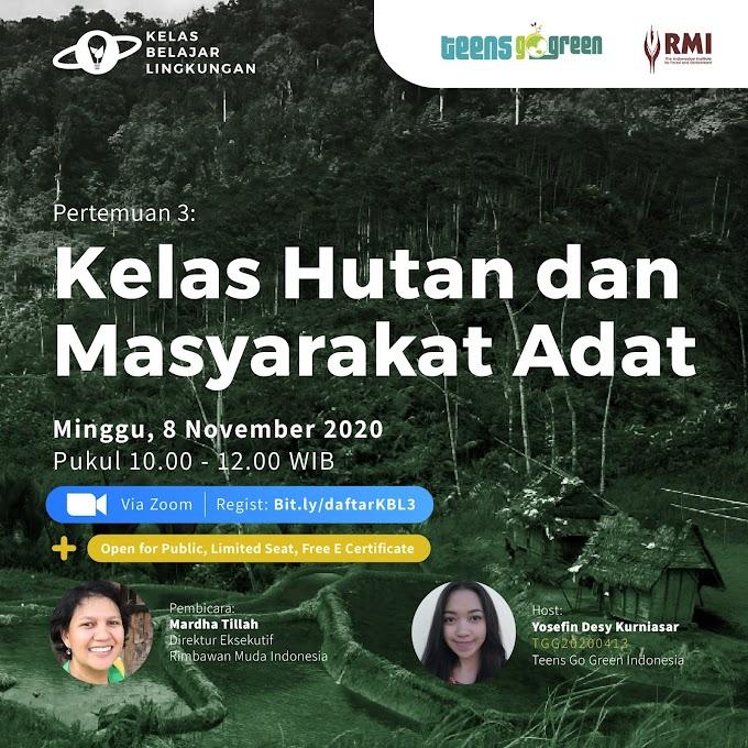 Memahami Hakikat Hutan dan Masyarakat Adat dari Dekat bersama RMI