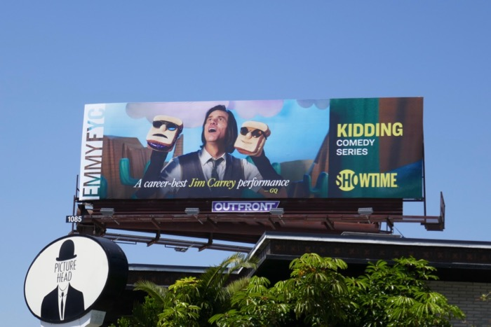 Kidding 2019 Emmy FYC billboard