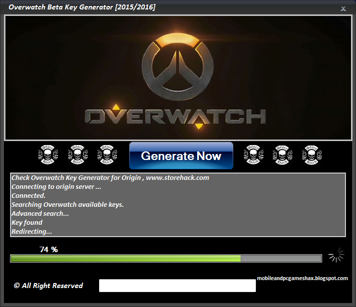 Overwatch Key Code Free