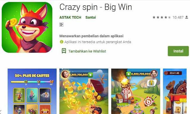 game spin penghasil uang 2
