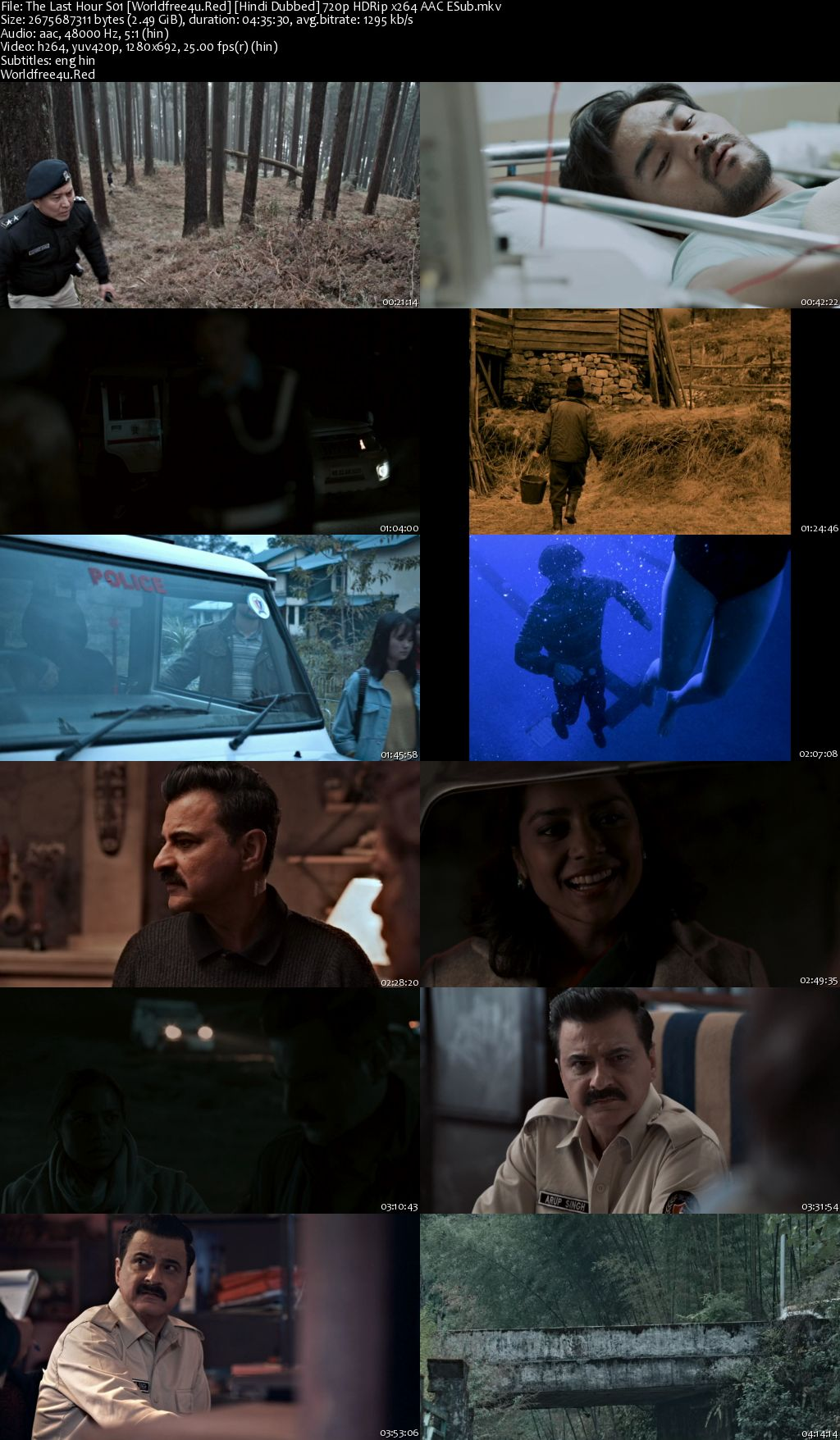 The Last Hour 2021 (Season 1) All Episodes HDRip 720p