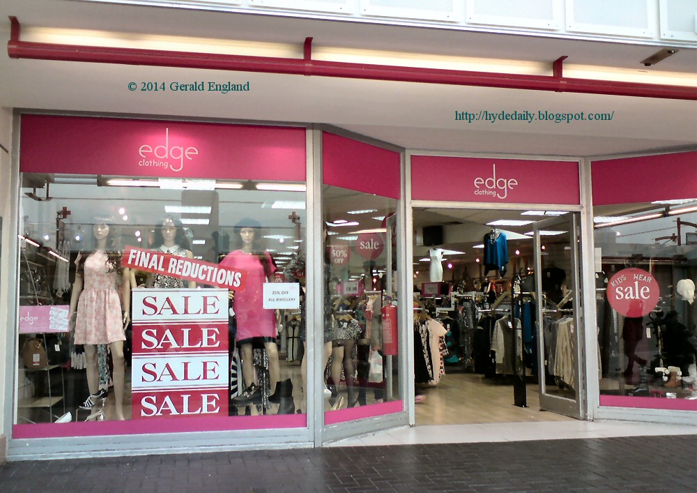 6c3701ee21 The edge clothing store in Clarendon Square Shopping Centre seem to have a  sale on at the moment.