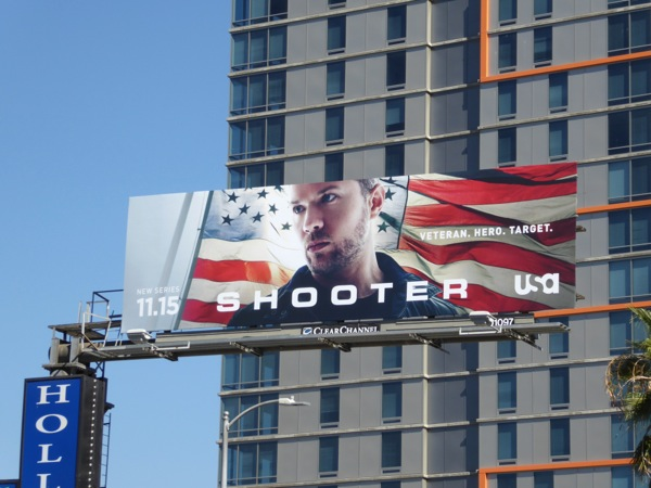 Shooter series launch billboard