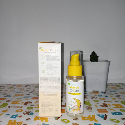 Mama's Choice Baby Calming Tummy Oil