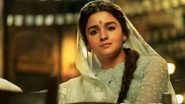 Poster of Alia Bhatt as 'Gangubai Kathiawadi' out ahead teaser release