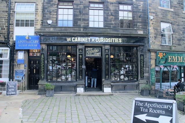 Cabinet of Curiosities shop in Haworth
