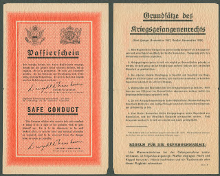A leaflet, primarily in German.