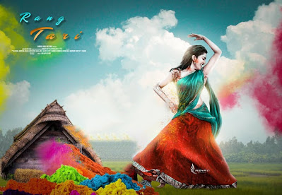 Holi photo edit picsart