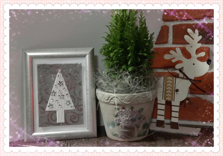 Wyczaruj świąteczny obrazek - DIY