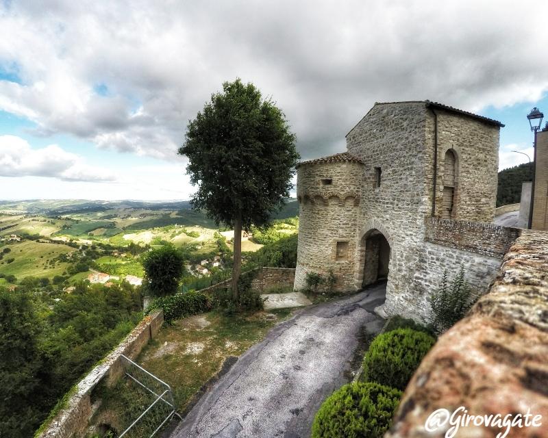 Porta Santa Lucia Arcevia Marche