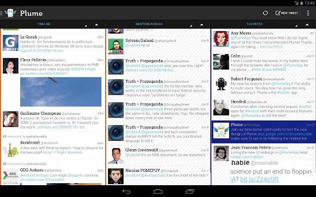 تنزيل Plume Premium for Twitter APK