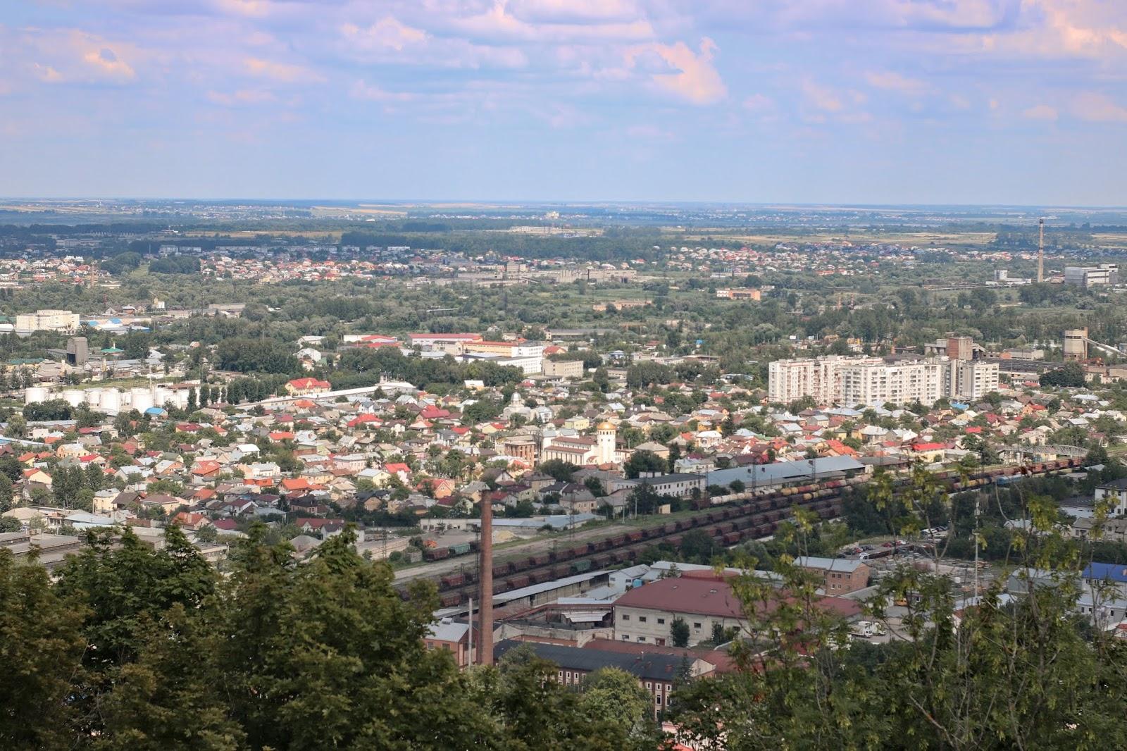 widok z kopca unii lubelskiej