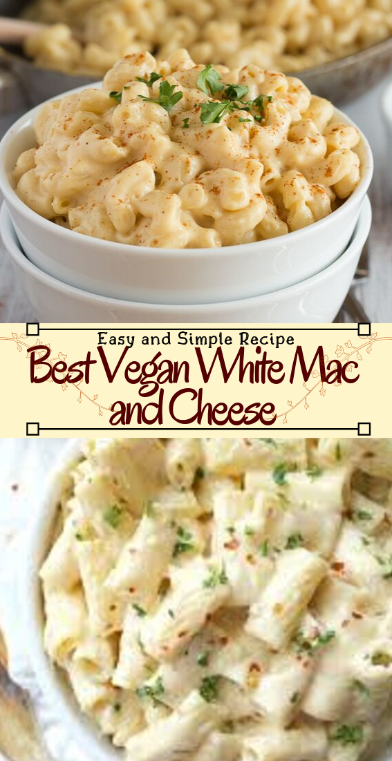 Best Vegan White Mac and Cheese #healthyfood #dietketo #breakfast #food