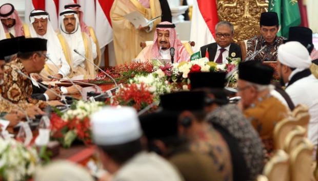 Raja Salman Puji Moto Kerja Kerja Kerja Jokowi