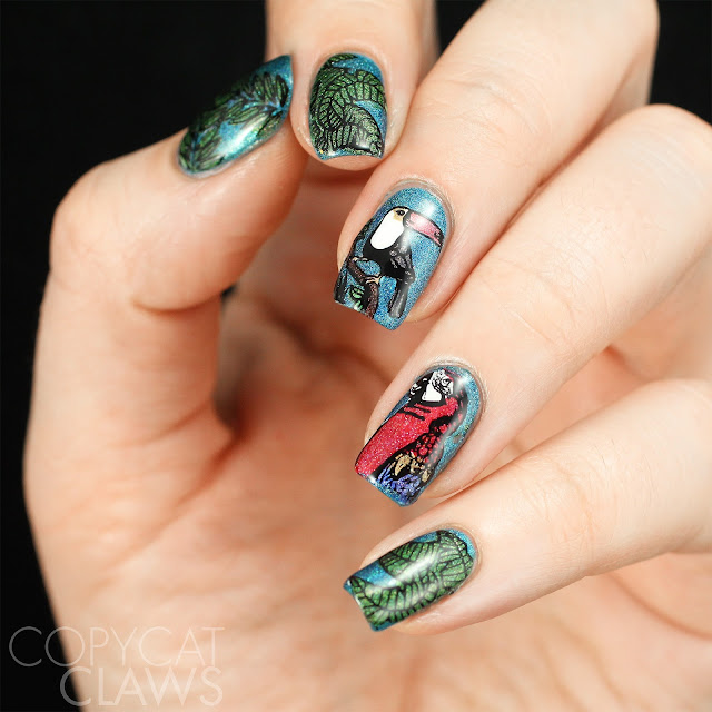 Rainforest Nail Art