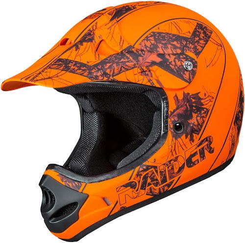 Raider Ambush Mossy Oak Unisex-Adult MX Off-Road Helmet