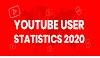 YouTube User Statistics 2020 #infographic