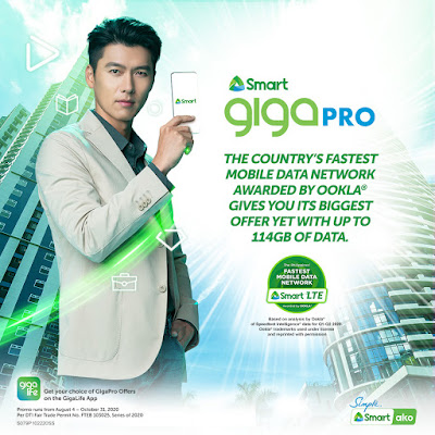 GIGA Pro comes with up to 114 GB for Smart's biggest prepaid data offer yet